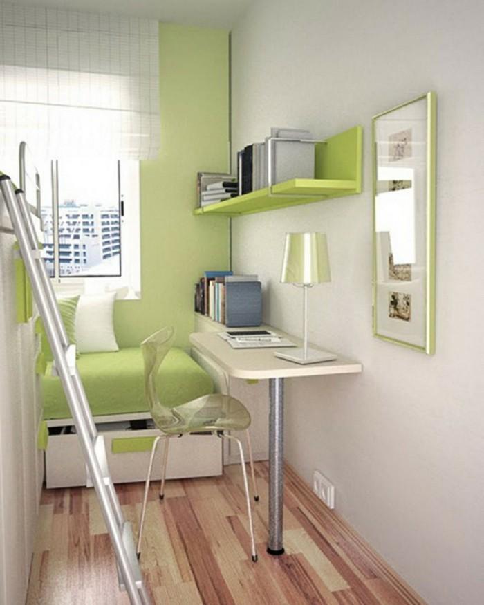 50 ideen f r kleines zimmer einrichten und dekorieren for Einrichtungstipps farbe