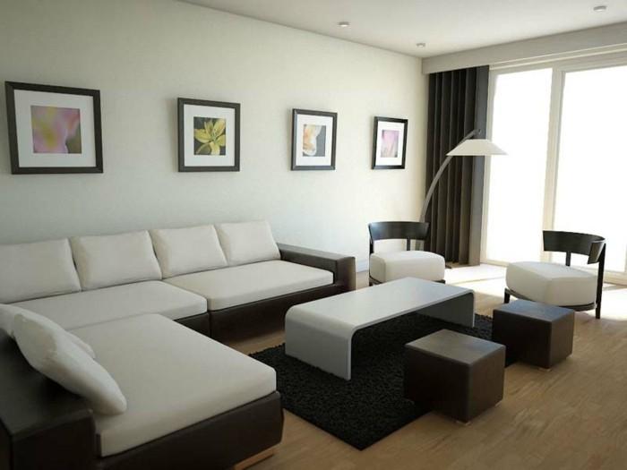 Einrichtungsideen-kleine-Räume-in-Schwarz-und-Weiß