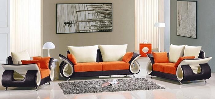 Farben-für-Wohnzimmer-in-Orange-Ein-kreatives-Design