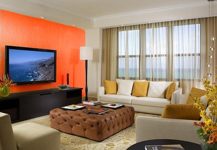 Farben-für-Wohnzimmer-in-Orange-Eine-außergewöhnliche-Ausstrahlung