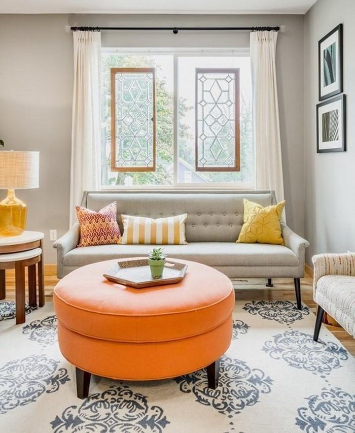 Farben-für-Wohnzimmer-in-Orange-Eine-auffällige-Entscheidung