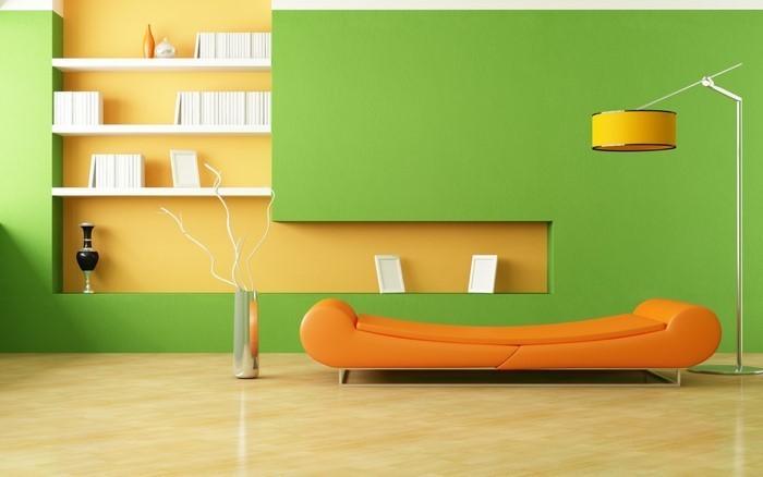 Farben-für-Wohnzimmer-in-Orange-Eine-coole-Entscheidung