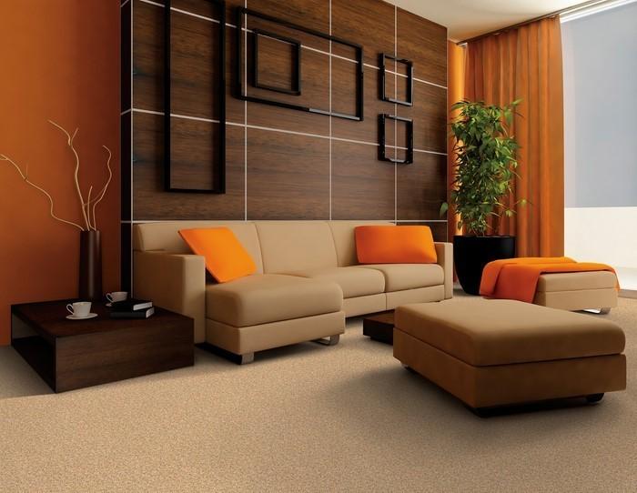 Farben-für-Wohnzimmer-in-Orange-Eine-kreative-Ausstattung