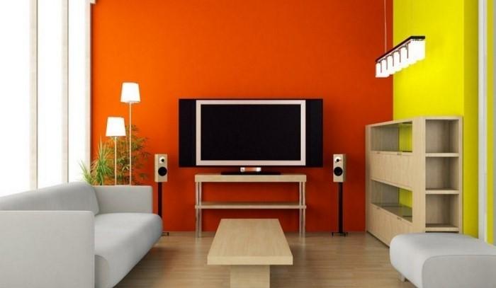 Farben-für-Wohnzimmer-in-Orange-Eine-kreative-Entscheidung