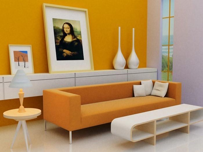 Farben-für-Wohnzimmer-in-Orange-Eine-moderne-Atmosphäre