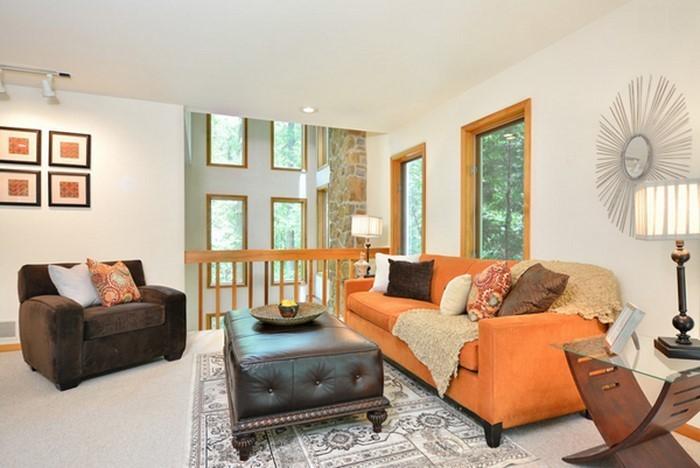 Farben-für-Wohnzimmer-in-Orange-Eine-moderne-Entscheidung