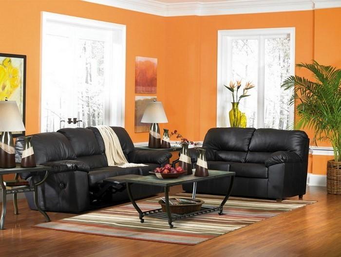 Farben-für-Wohnzimmer-in-Orange-Eine-super-Deko