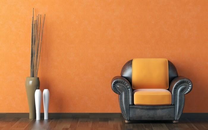 Farben-für-Wohnzimmer-in-Orange-Eine-super-Gestaltung