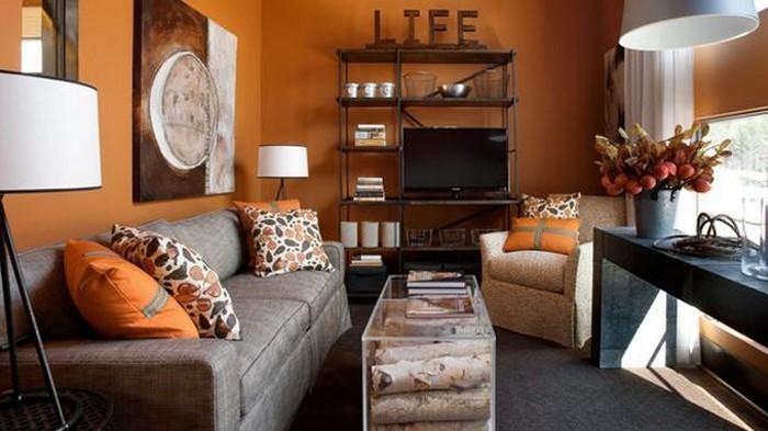 Farben-für-Wohnzimmer-in-Orange-Eine-tolle-Ausstrahlung