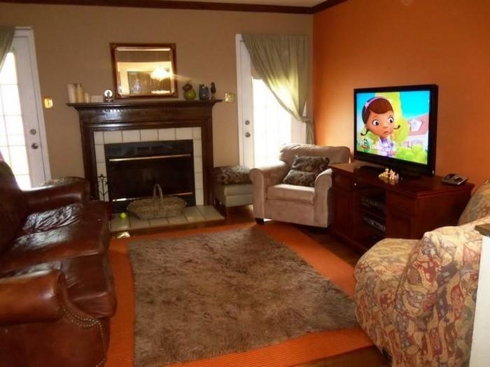 Farben-für-Wohnzimmer-in-Orange-Eine-verblüffende-Gestaltung