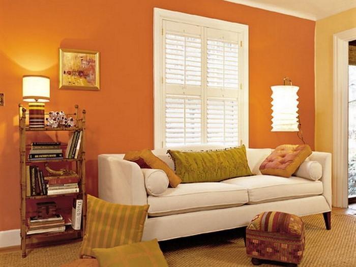 Farben-für-Wohnzimmer-in-Orange-Eine-wunderschöne-Ausstattung