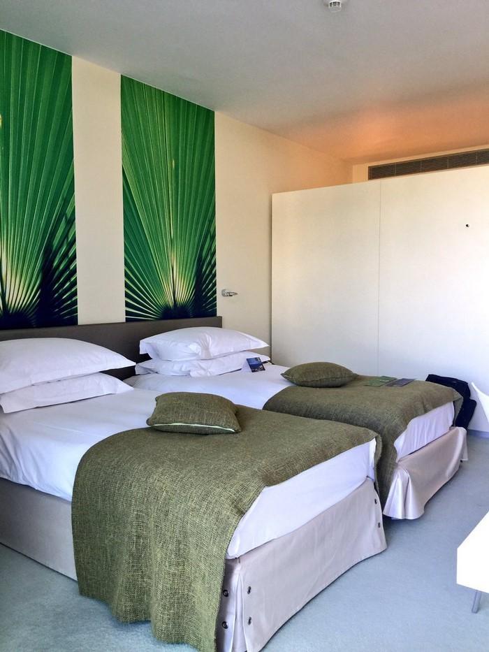 Farben-fürs-Schlafzimmer-Grün-Ein-außergewöhnliches-Design