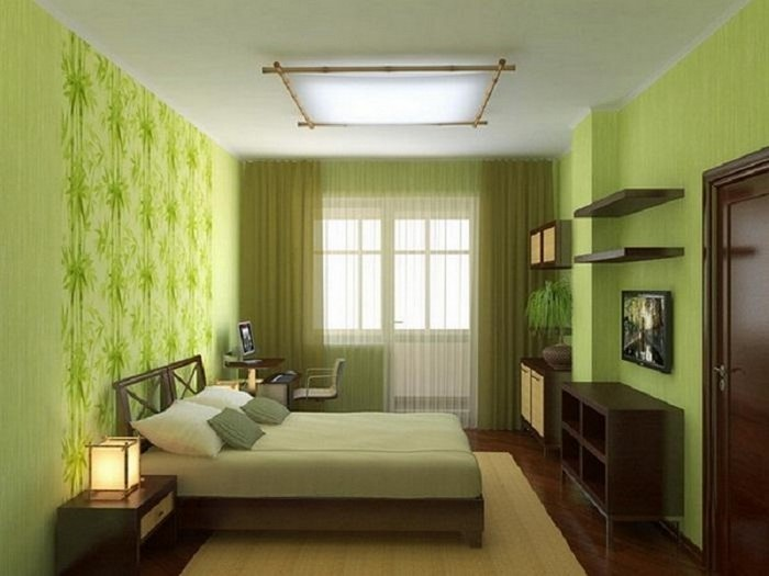 frische farben fürs schlafzimmer: 59 wohnideen in grün!, Hause deko