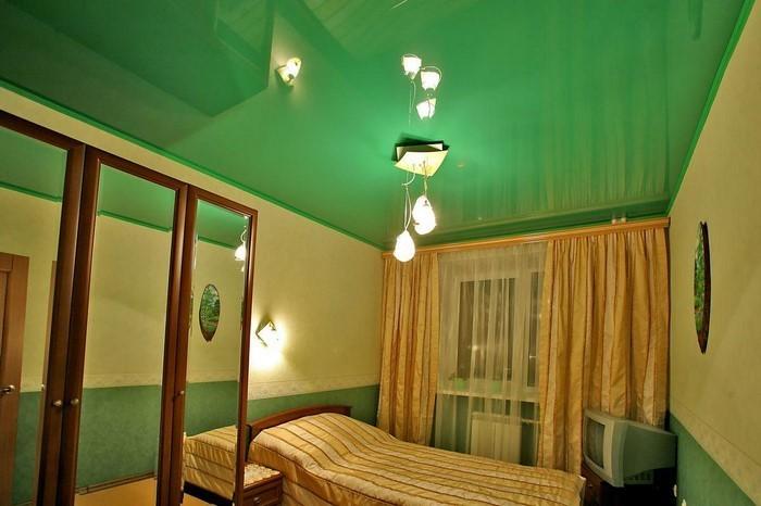 Farben-fürs-Schlafzimmer-Grün-Ein-kreatives-Design