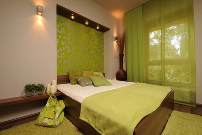 Farben-fürs-Schlafzimmer-Grün-Ein-verblüffendes-Interieur