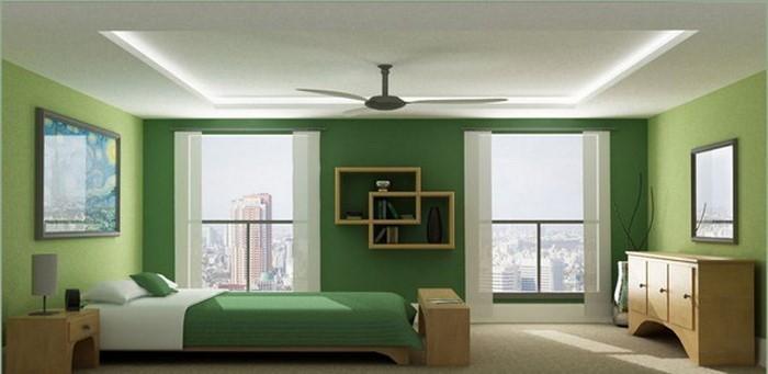 frische farben fürs schlafzimmer: 59 wohnideen in grün! - Farbe Fürs Schlafzimmer