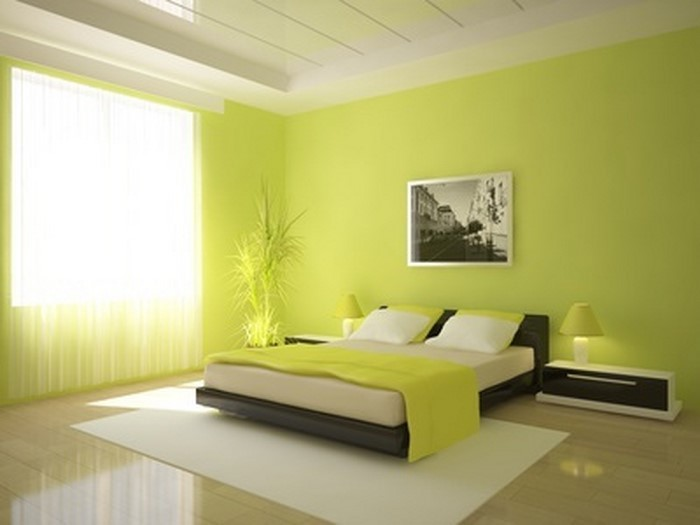 Farben-fürs-Schlafzimmer-Grün-Eine-außergewöhnliche-Gestaltung