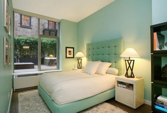 Farben-fürs-Schlafzimmer-Grün-Eine-auffällige-Ausstrahlung