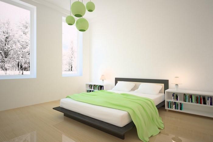 frische farben fürs schlafzimmer: 59 wohnideen in grün! - Modernes Schlafzimmer Grun