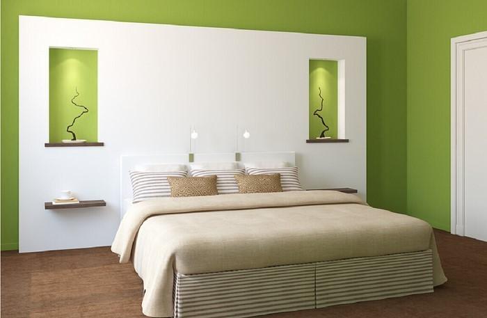 Farben-fürs-Schlafzimmer-Grün-Eine-kreative-Entscheidung