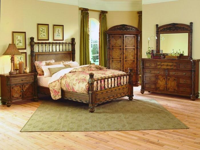 Farben-fürs-Schlafzimmer-Grün-Eine-moderne-Ausstattung