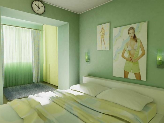 Frische Farben Fürs Schlafzimmer: 59 Wohnideen In Grün! ...