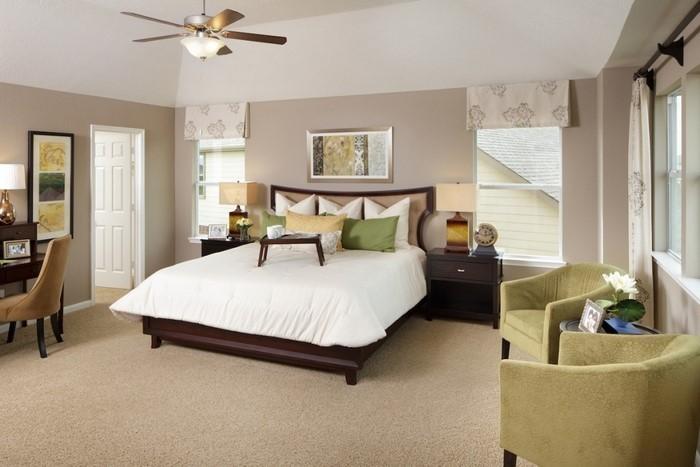 Farben-fürs-Schlafzimmer-Grün-Eine-wunderschöne-Ausstattung