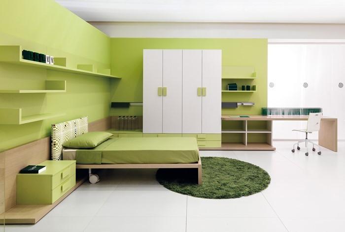 Farben-fürs-Schlafzimmer-Grün-Eine-wunderschöne-Gestaltung