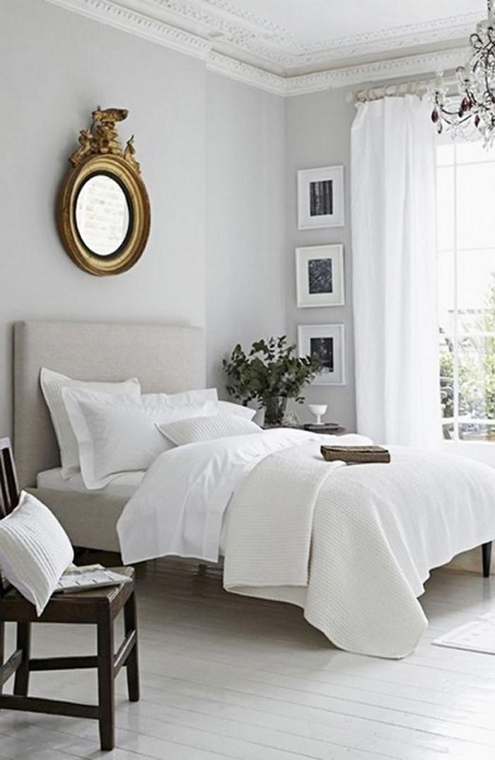 Frische Farben fürs Schlafzimmer: 74 Wohnideen in Weiß!