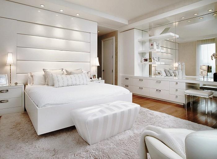 Farben-fürs-Schlafzimmer-Weiß-Eine-auffällige-Ausstattung (Copy)