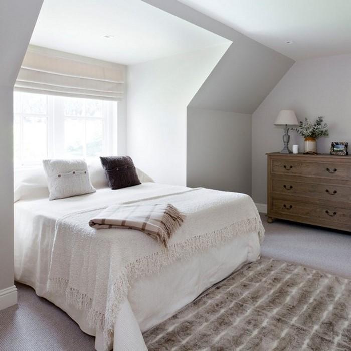 Frische Farben Fürs Schlafzimmer: 74 Wohnideen In Weiß