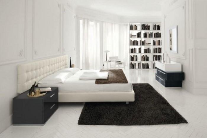 Farben-fürs-Schlafzimmer-Weiß-Eine-coole-Dekoration (Copy)