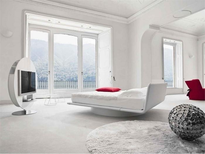 Farben-fürs-Schlafzimmer-Weiß-Eine-kreative-Ausstrahlung (Copy)