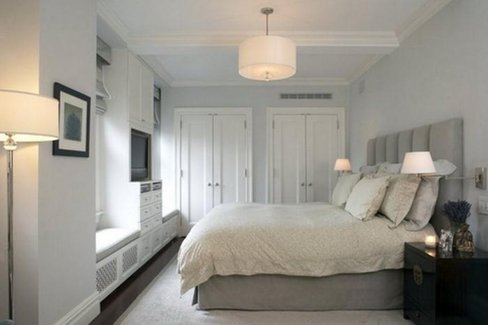 Farben-fürs-Schlafzimmer-Weiß-Eine-kreative-Dekoration (Copy)