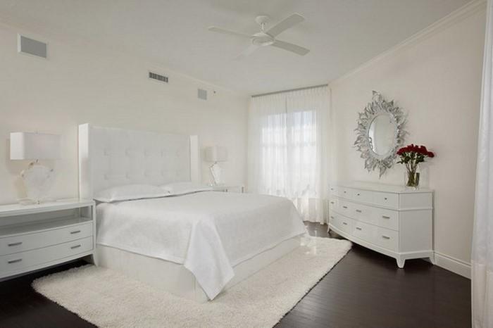 Weisses Schlafzimmer frische farben fürs schlafzimmer 74 wohnideen in weiß