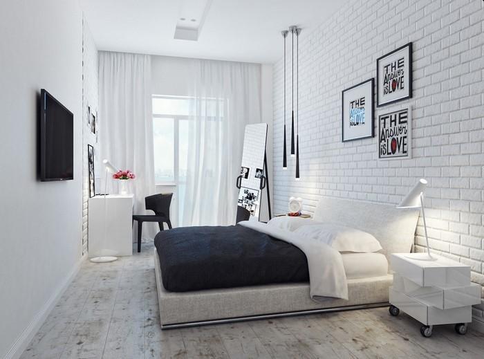 Farben-fürs-Schlafzimmer-Weiß-Eine-verblüffende-Ausstattung (Copy)