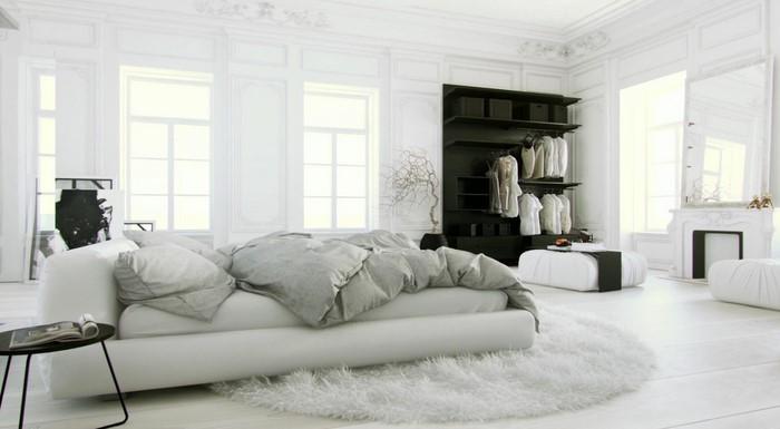 Farben-fürs-Schlafzimmer-Weiß-Eine-verblüffende-Gestaltung (Copy)