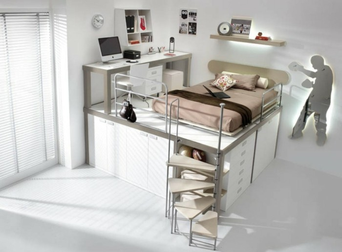 Feng-Shui-Bett-für-kleines-Zimmer