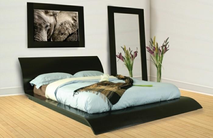 Sanviro.com | Schlafzimmer Grün Weiß
