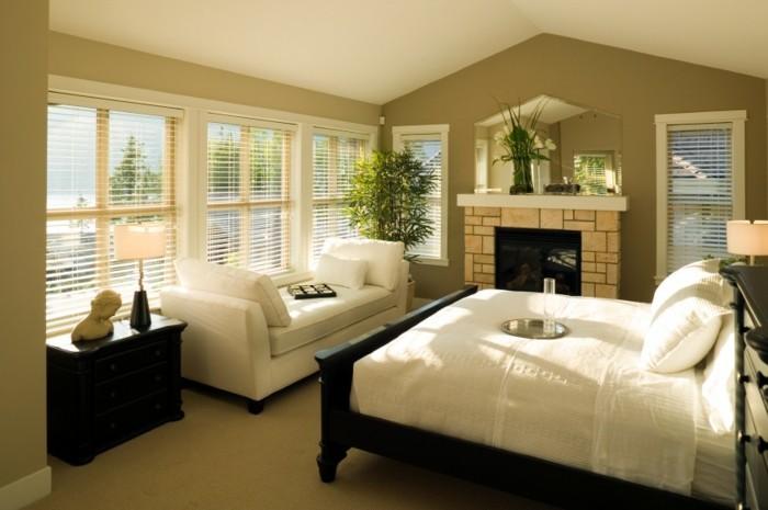 Nice Schlafzimmer Farben Nach Feng Shui 2 #12: 40 Beispiele, Wie Sie Schlafzimmer Nach Feng Shui Dekorieren