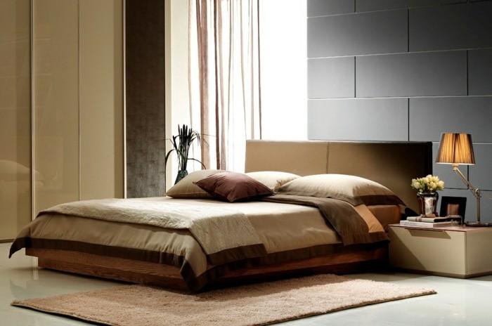 Braun Beiges Schlafzimmer