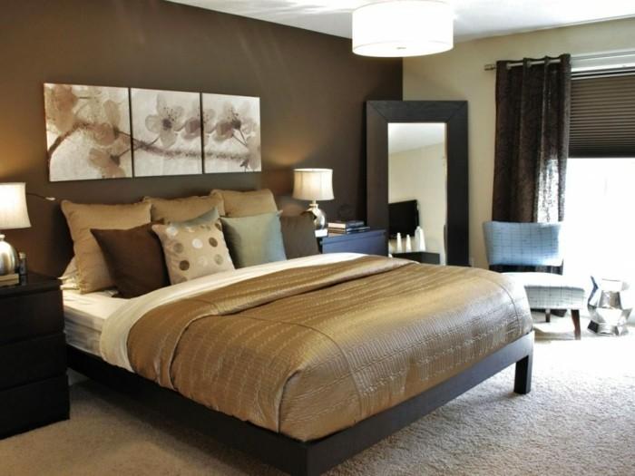 de.pumpink | schlafzimmer gestalten braun beige