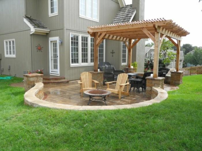 Terrassenüberdachung Holz Freistehend ~ Terrassenüberdachungen nützliche planungshilfen archzine