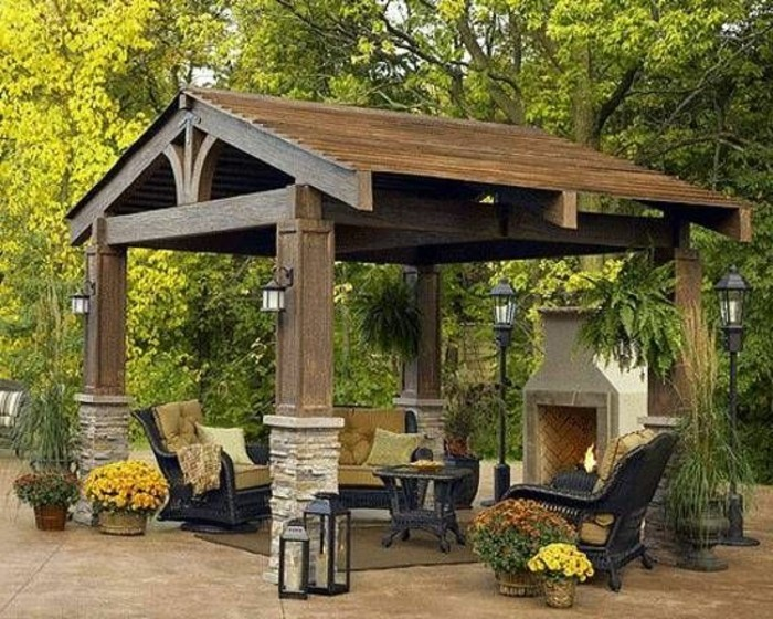 garten pergola eine idylle im freien. Black Bedroom Furniture Sets. Home Design Ideas