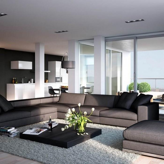 Grünes-Wohnzimmer-Design-Ein-außergewöhnliches-Interieur