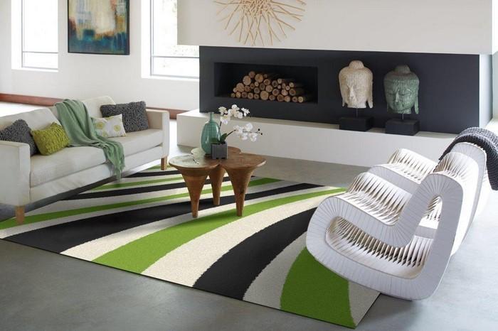 Grünes-Wohnzimmer-Design-Ein-cooles-Design
