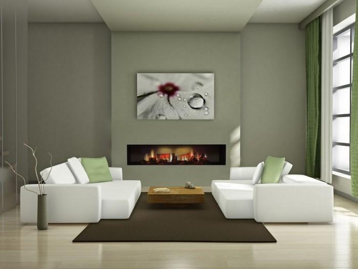 Grünes-Wohnzimmer-Design-Ein-kreatives-Design
