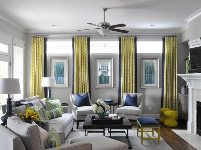 Grünes-Wohnzimmer-Design-Ein-kreatives-Interieur