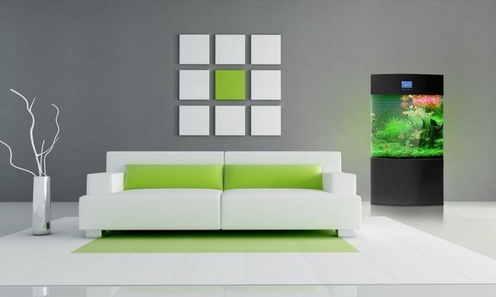 Grünes-Wohnzimmer-Design-Ein-modernes-Interieur