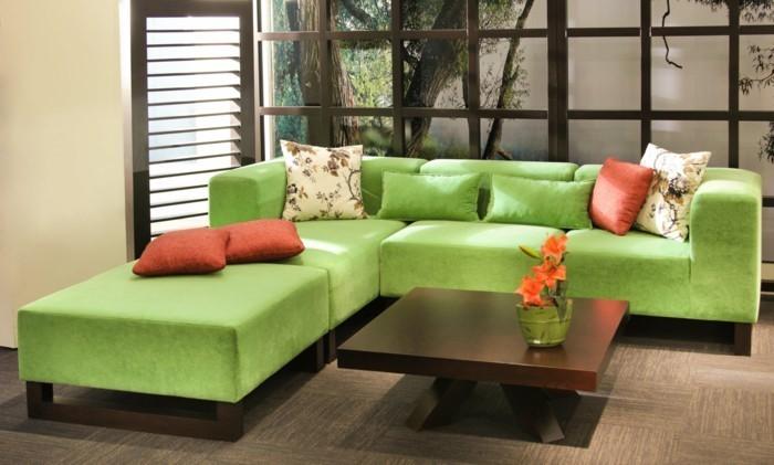 Grünes-Wohnzimmer-Design-Ein-tolles-Design
